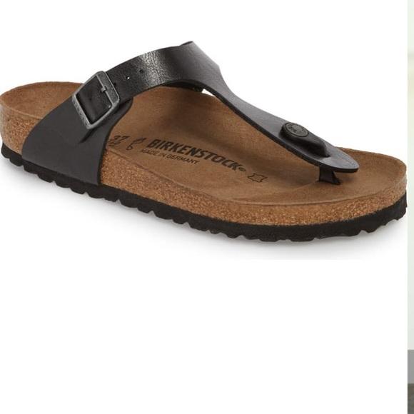 Birkenstock Shoes - Birkenstock gizeh birko flor thong sandal